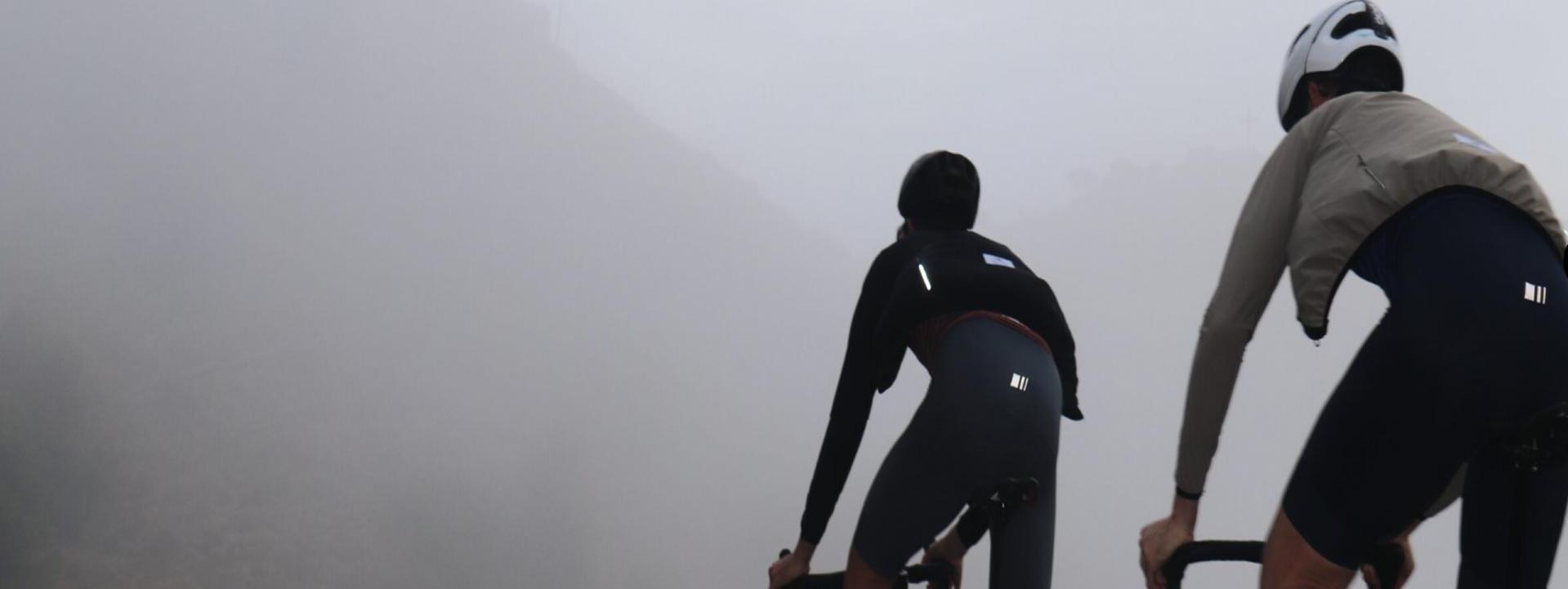 Ciclismo y nieve: consejos sobre bicicletas y frío.