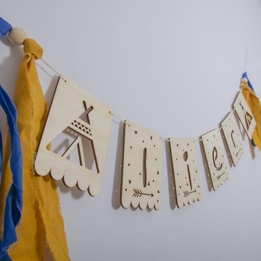 Banderola madera  [2]