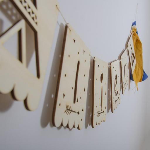 Banderola madera