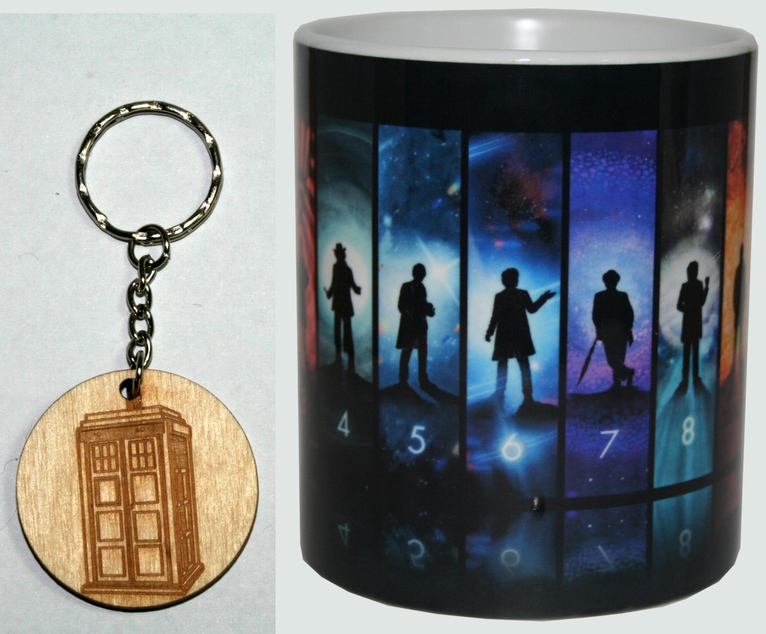 Taza y Llavero Doctor Who