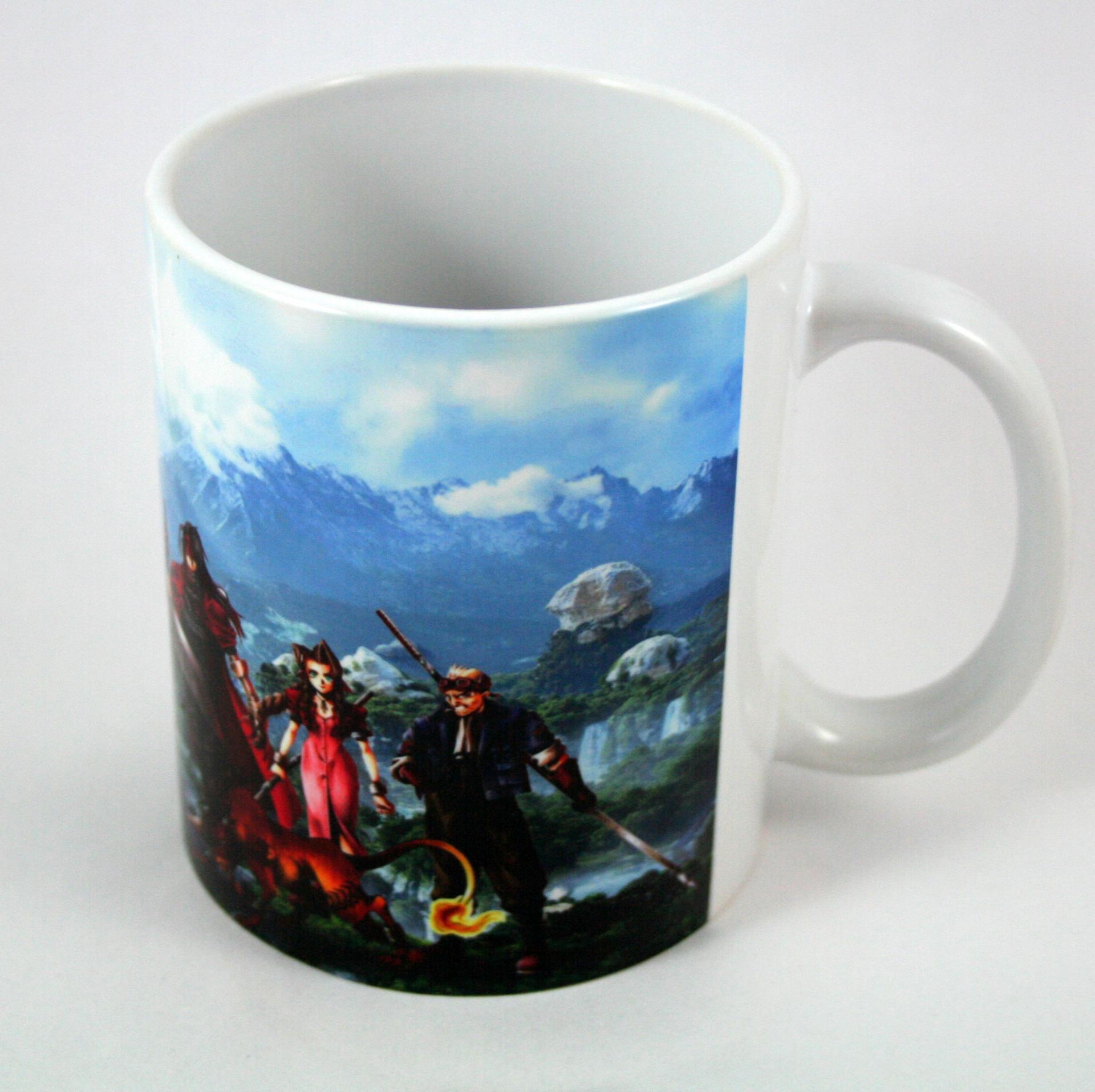 Taza y Llavero Final Fantasy VII