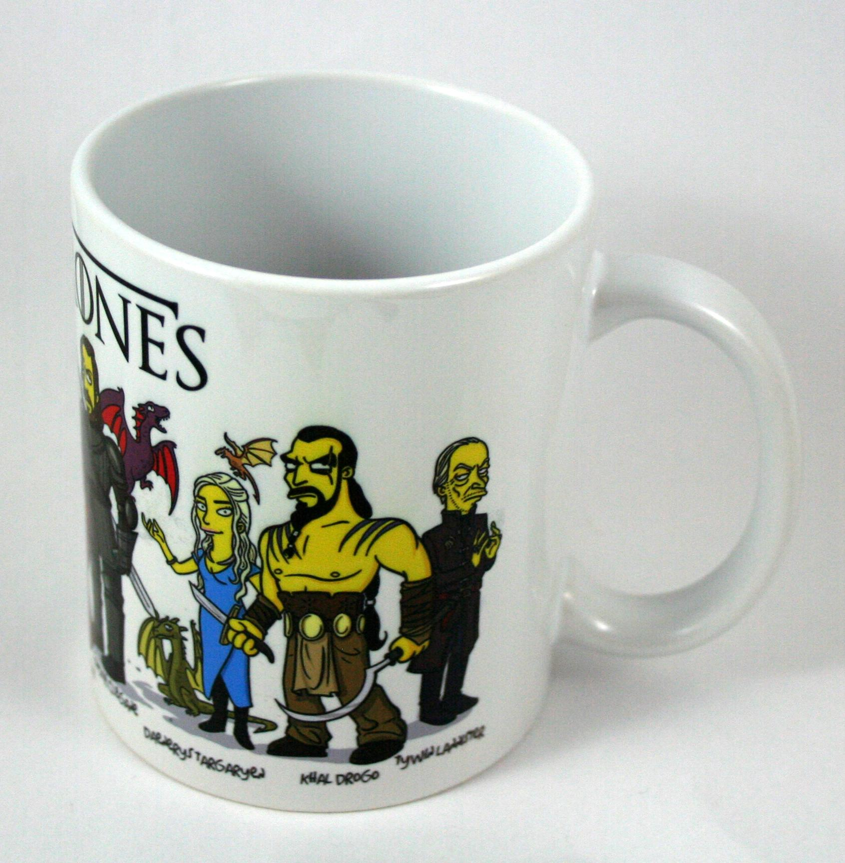 Taza y Llavero Juego de Tronos Simpsons
