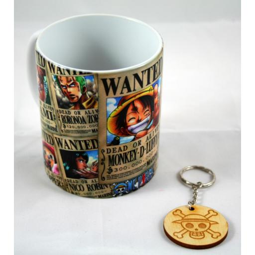 Taza y llavero one piece [2]