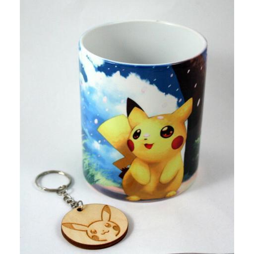 Taza Pokemon (Pikachu)