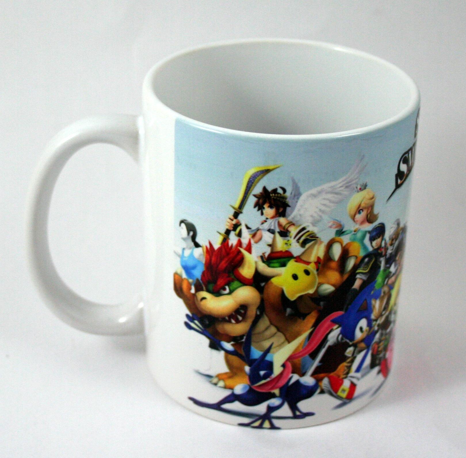Taza y llavero Super Smash Bros