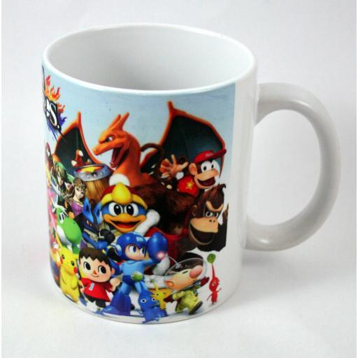 Taza y llavero Super Smash Bros  [1]