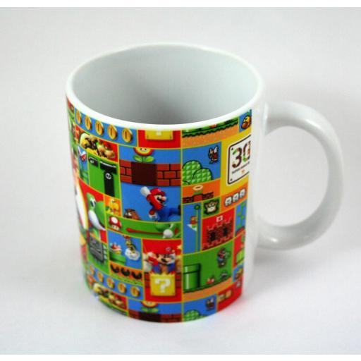 HobbyElx Taza y Llavero Super Mario  [0]