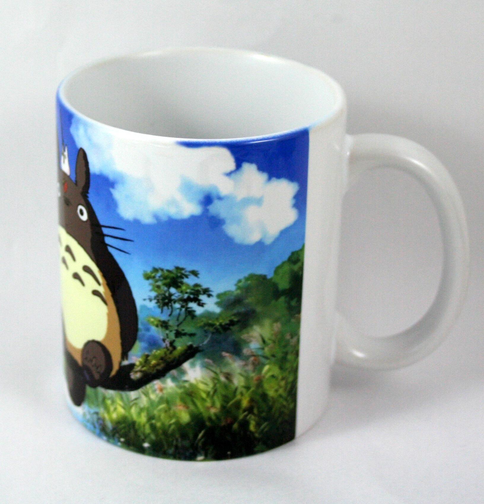 Taza y llavero Totoro
