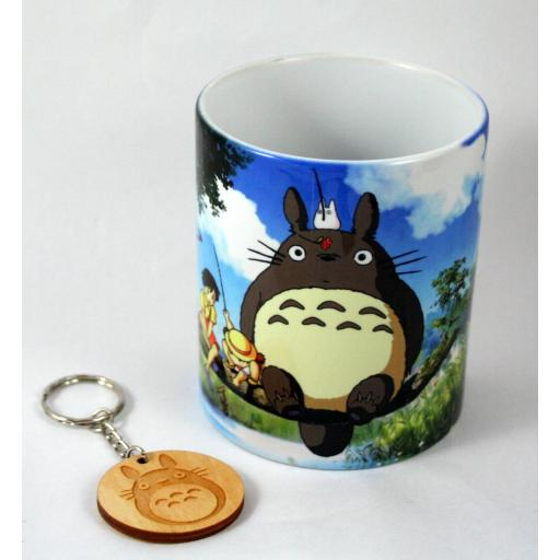 Taza y llavero Totoro [2]