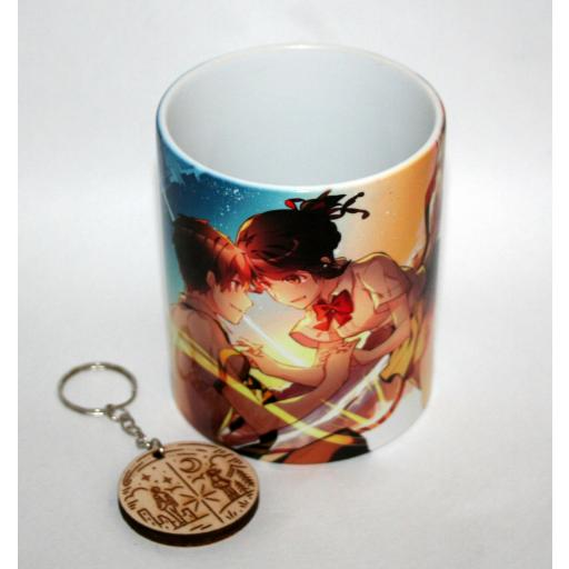 Taza y Llavero Your Name