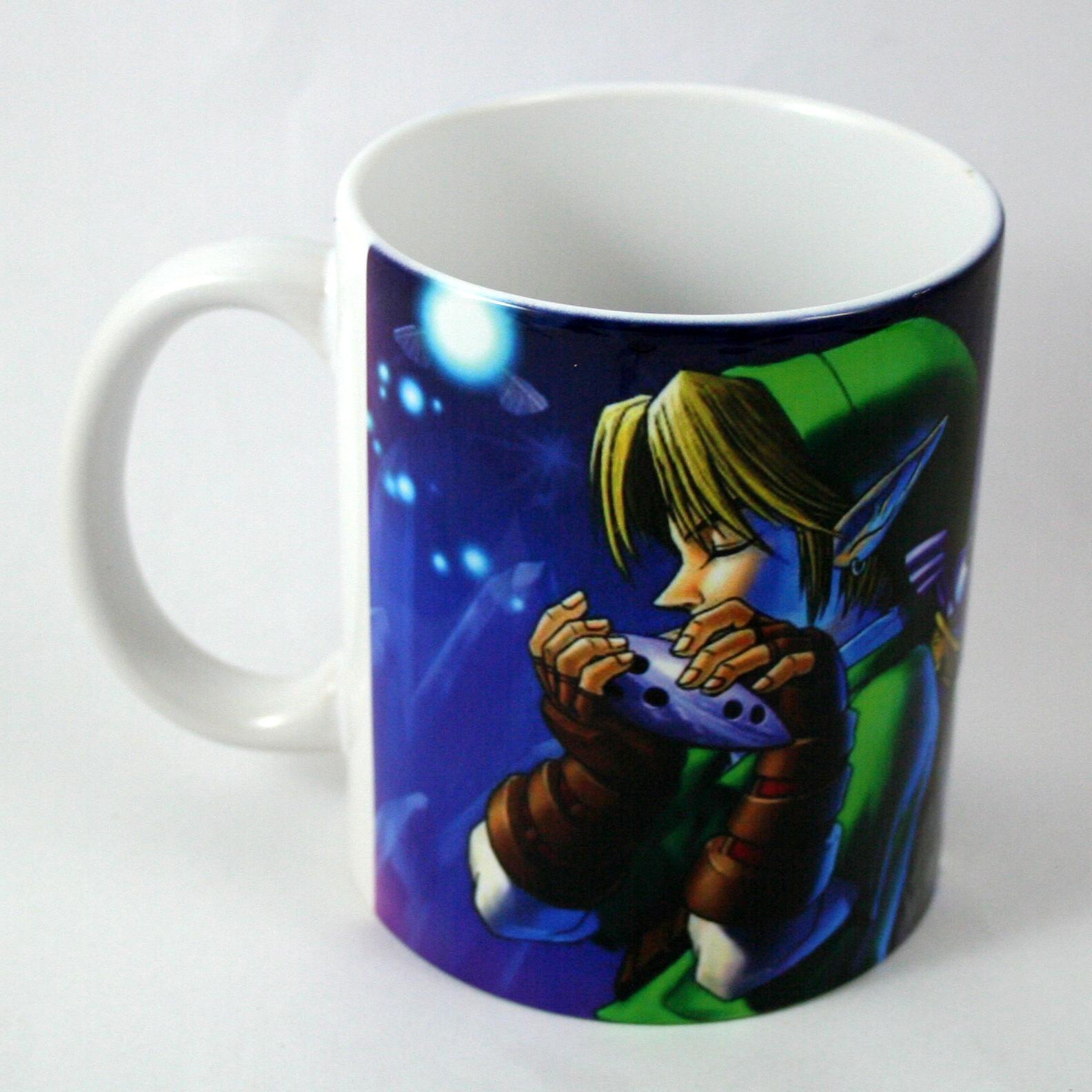 Taza y Llavero Zelda Ocarina of Time