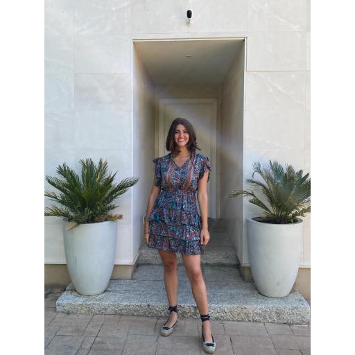 Vestido Lissa Azul