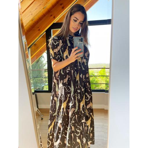 Vestido Safari negro