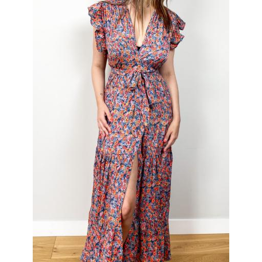 Vestido Lauren Flores