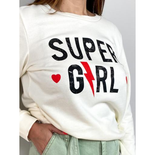 Sudadera Super Girl [1]