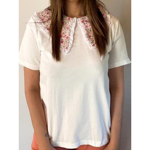 Camisa Cuello Flores [2]