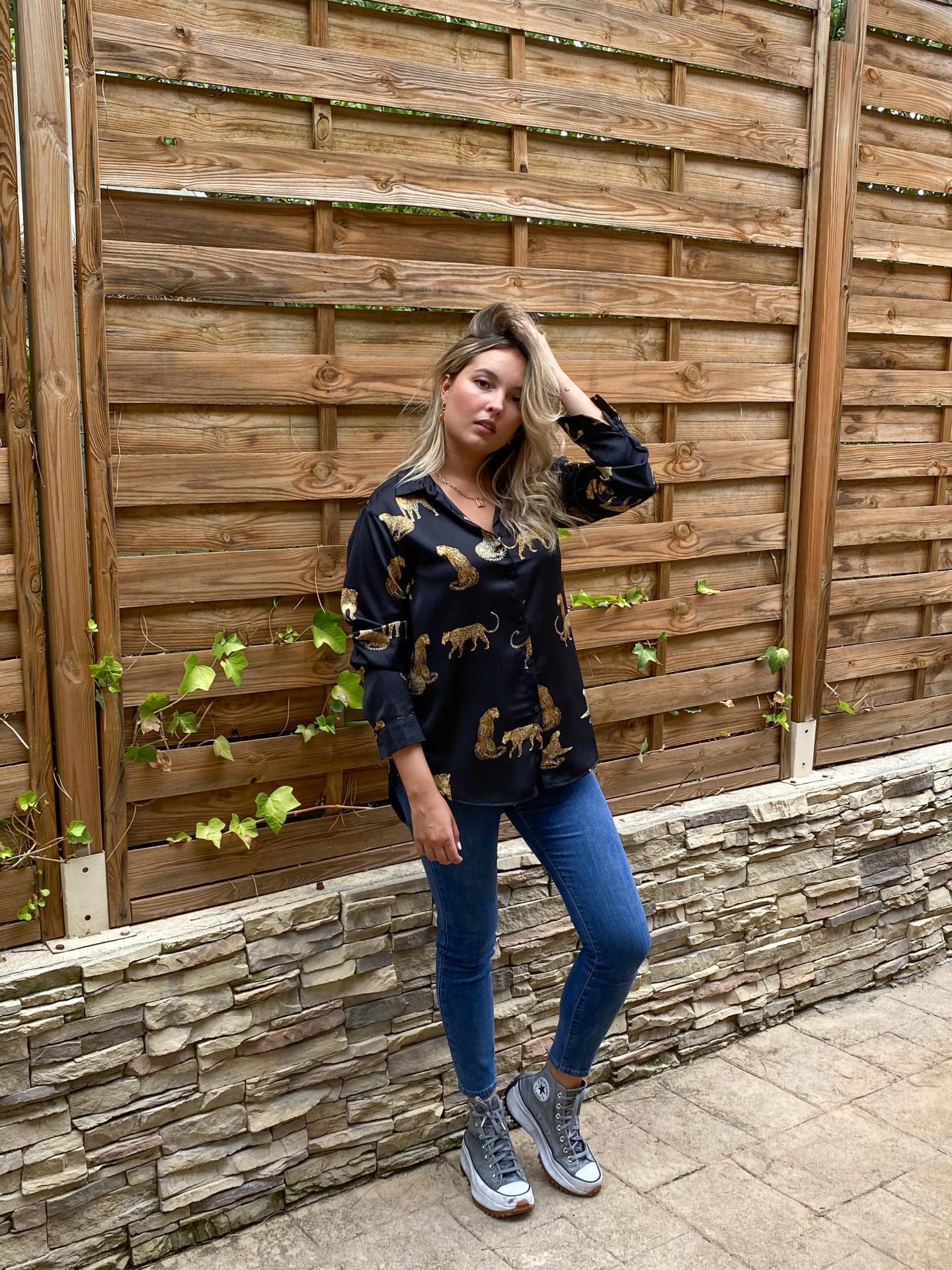 Camisa Leopardos
