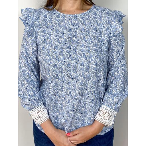 Camisa Liberty Azul