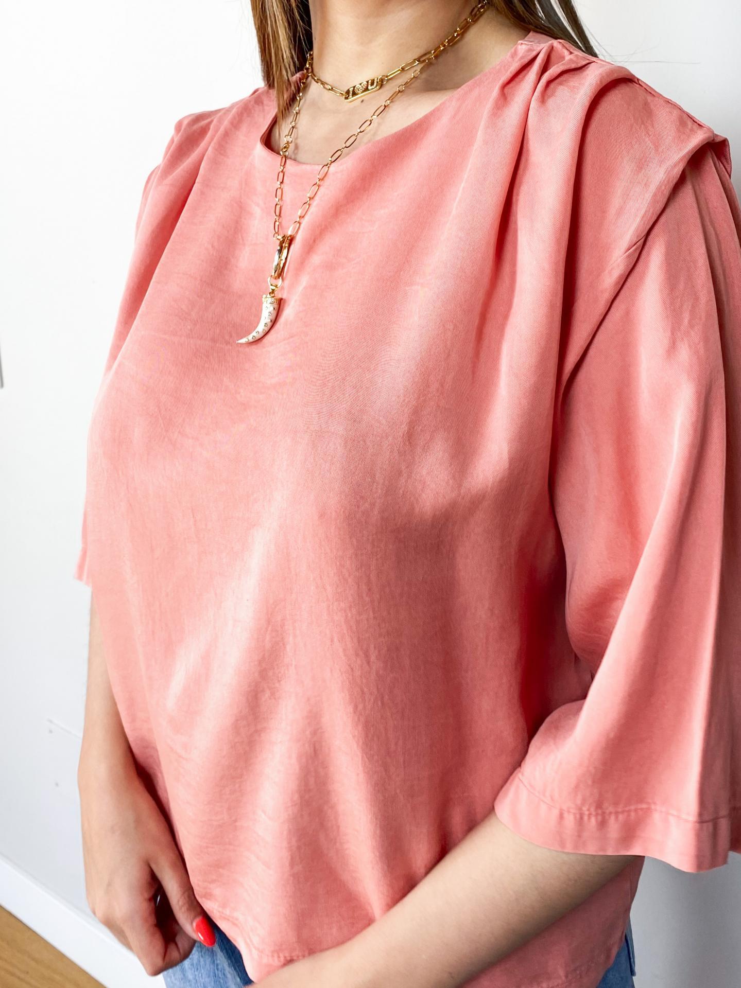 Blusa Carla Coral