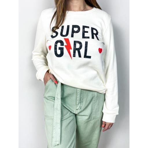 Sudadera Super Girl
