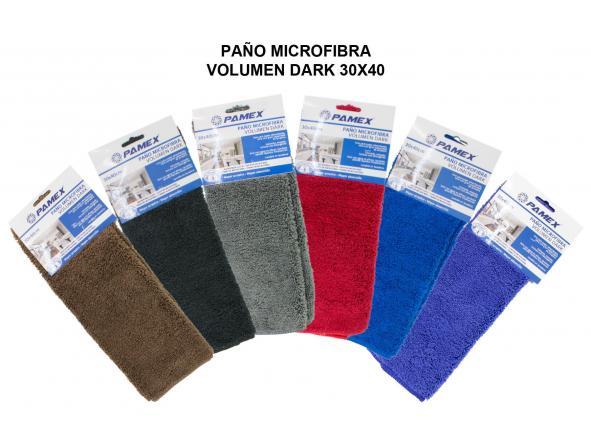 PAÑO MICROFIBRA VOLUMEN DARK 30X40 (PAQ 12 UND) [0]