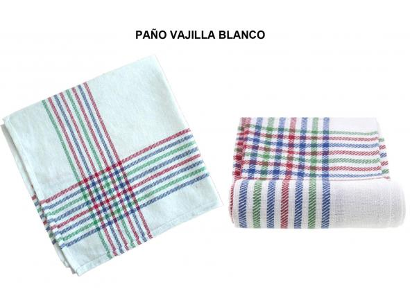 PAÑO VAJILLA BLANCO (PAQ 12 UND) [0]