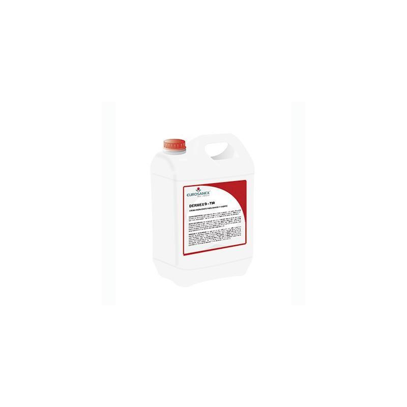 Gel Hidroalcohólico Antiséptico Virucida base alcohol DERMEX D-730  5L
