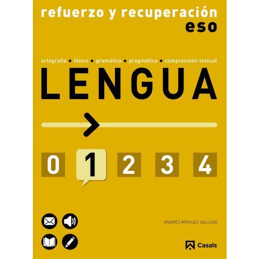 LIBRO DE TEXTO - 1 ESO REFUERZO Y RECUPERACIÓN DE LENGUA