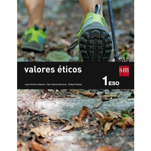 LIBRO DE TEXTO - 1 ESO VALORES ÉTICOS. SAVIA