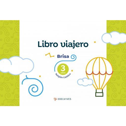 LIBRO DE TEXTO - 1 INFANTIL RELIGIÓN CATÓLICA BRISA 3 AÑOS