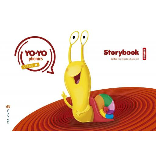 LIBRO DE TEXTO - 1 INFANTIL YOYO PHONICS STORYBOOK STARTER 3 AÑOS