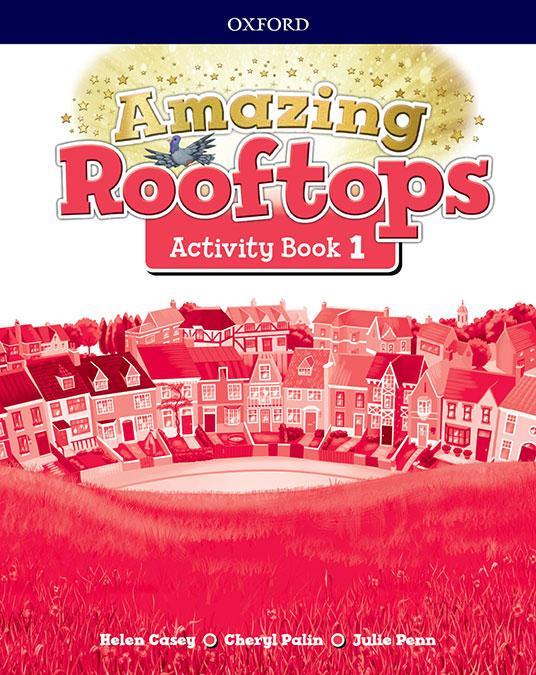 LIBRO DE TEXTO - 1 PRIMARIA AMAZING ROOFTOPS ACTIVITY BOOK