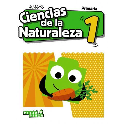 LIBRO DE TEXTO - 1 PRIMARIA CIENCIAS NATURALEZA. PAUTA PIEZA A PIEZA