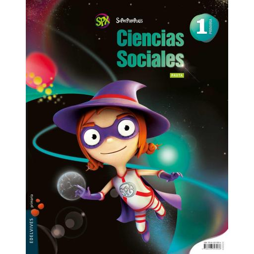 LIBRO DE TEXTO - 1 PRIMARIA CIENCIAS SOCIALES. SUPERPIXÉPOLIS (PAUTA)