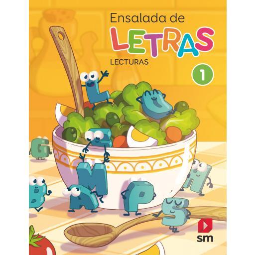 LIBRO DE TEXTO - 1 PRIMARIA ENSALADA DE LETRAS-LECTURAS