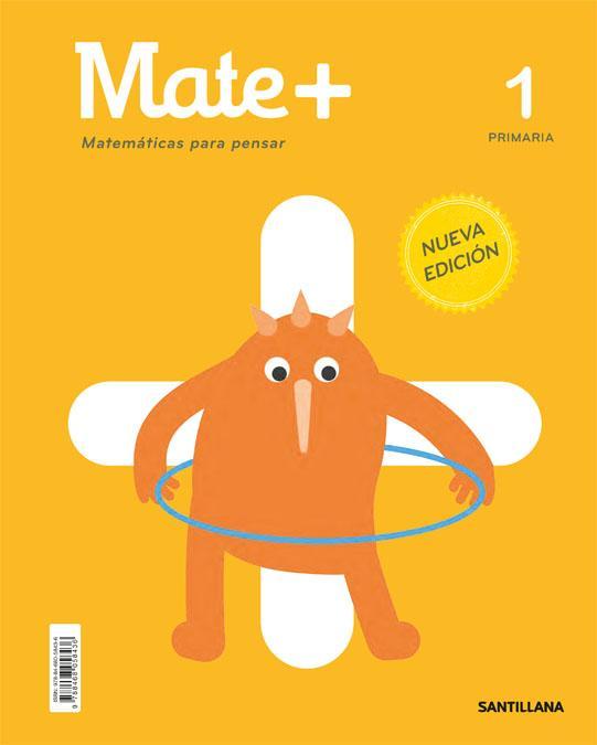 LIBRO DE TEXTO - 1 PRIMARIA MATE+ MATEMÁTICAS PARA PENSAR
