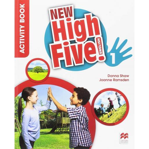 LIBRO DE TEXTO - 1 PRIMARIA NEW HIGH FIVE 1 ACTIVITY BOOK