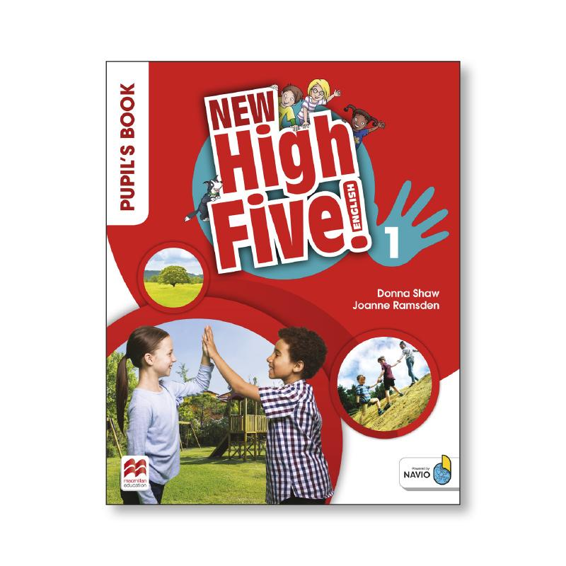 LIBRO DE TEXTO - 1 PRIMARIA NEW HIGH FIVE 1 PUPILS BOOK