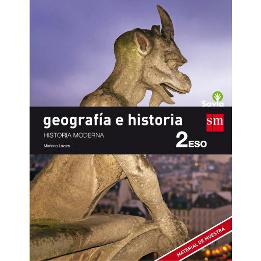 LIBRO DE TEXTO - 2 ESO GEOGRAFÍA E HISTORIA SAVIA