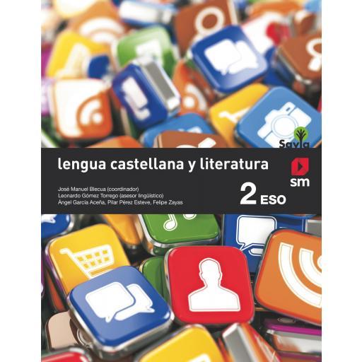 LIBRO DE TEXTO - 2 ESO LENGUA Y LITERATURA. SAVIA