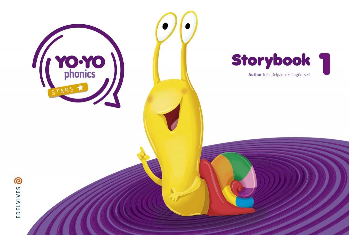 LIBRO DE TEXTO - 2 INFANTIL YOYO PHONICS STORYBOOK 1 4 AÑOS