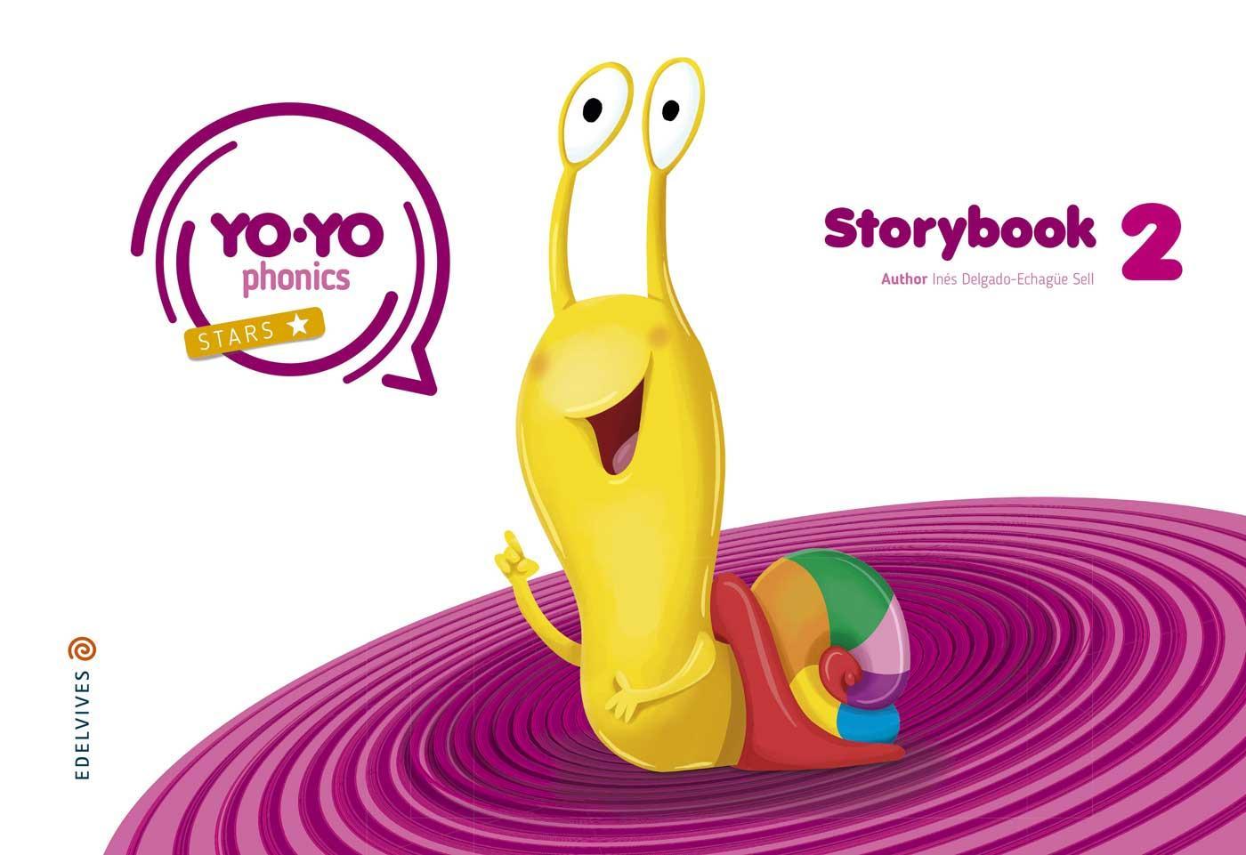 LIBRO DE TEXTO - 2 INFANTIL YOYO PHONICS STORYBOOK 2 4 AÑOS