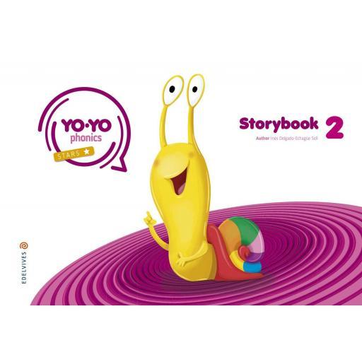 LIBRO DE TEXTO - 2 INFANTIL YOYO PHONICS STORYBOOK 2 4 AÑOS [0]