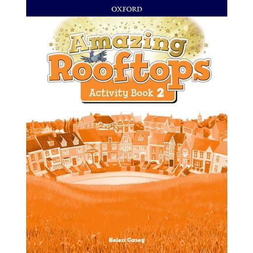 LIBRO DE TEXTO - 2 PRIMARIA AMAZING ROOFTOPS ACTIVITY BOOK