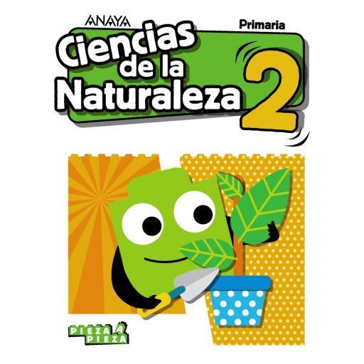 LIBRO DE TEXTO - 2 PRIMARIA CIENCIAS NATURALEZA. PIEZA A PIEZA