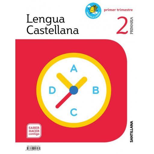 LIBRO DE TEXTO - 2 PRIMARIA LENGUA PRIMEROS PASOS MOCHILA LIGERA. SABER HACER CONTIGO