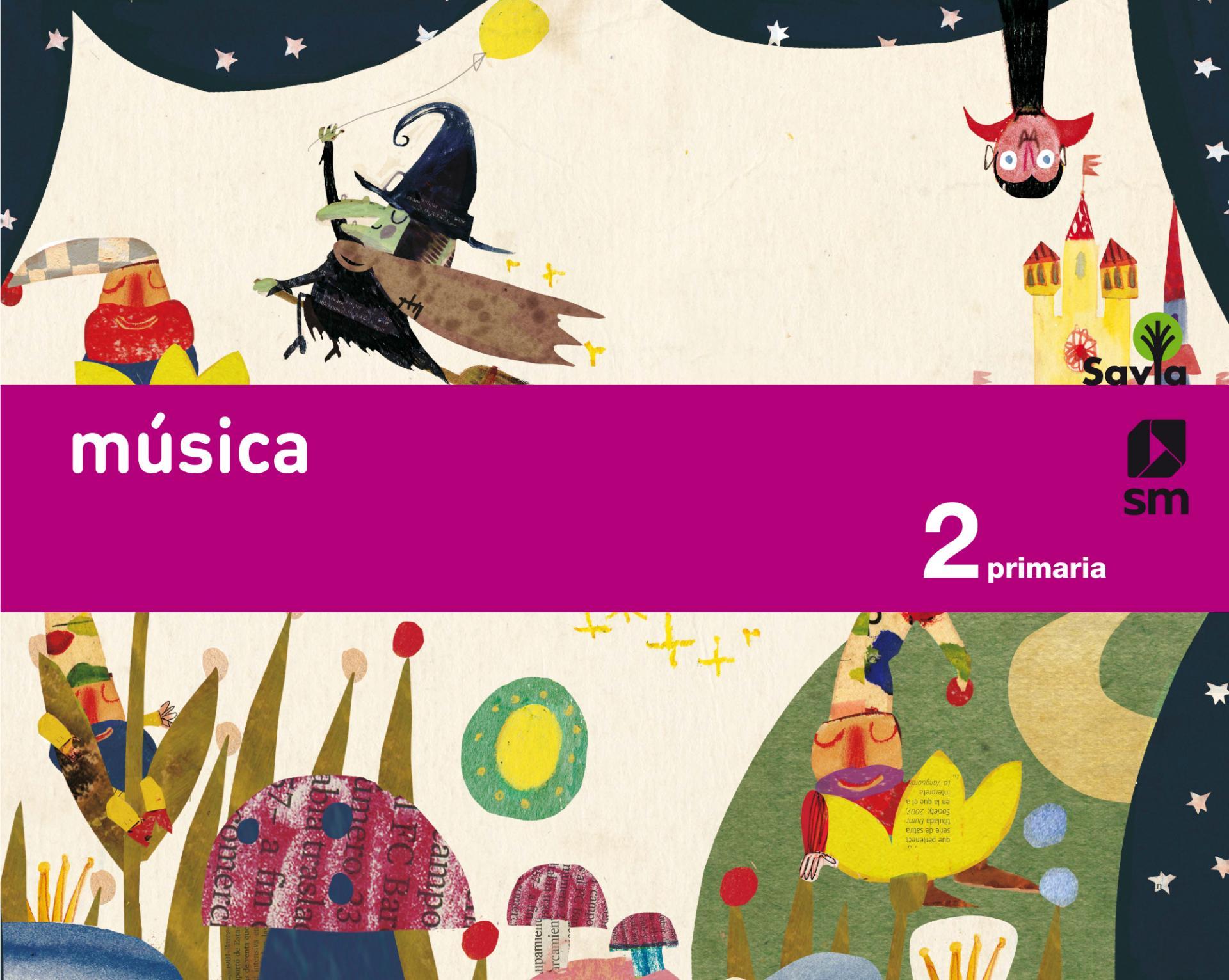 LIBRO DE TEXTO - 2 PRIMARIA MÚSICA SAVIA ED 2015