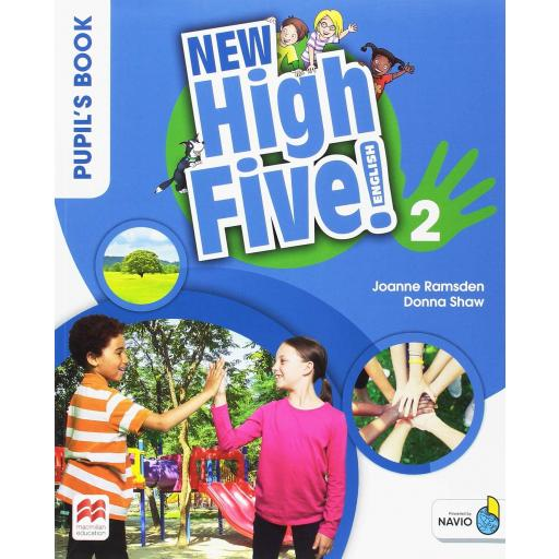 LIBRO DE TEXTO - 2 PRIMARIA NEW HIGH FIVE 2 PUPILS BOOK