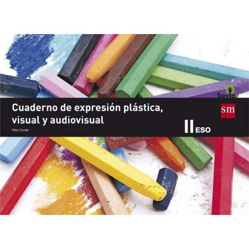 LIBRO DE TEXTO - 3 ESO CUADERNO EDUCACIÓN PLÁSTICA, VISUAL Y AUDIOVISUAL II. SAVIA