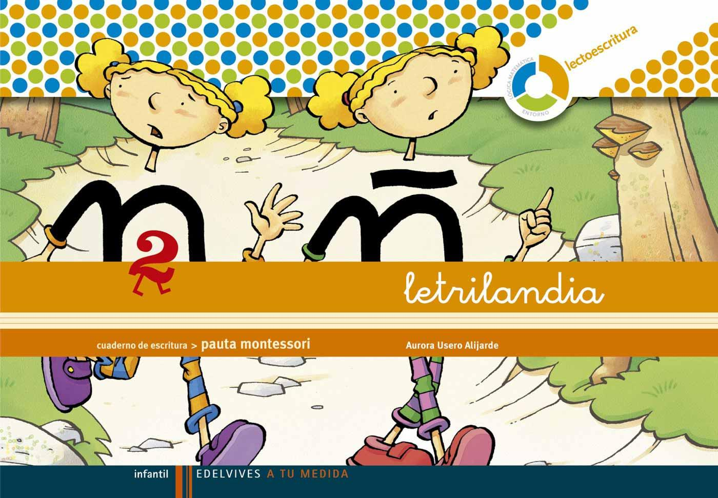 Libro De Texto 3 Infantil Letrilandia Lectoescritura Cuaderno 2 Pauta Montessori 10 26